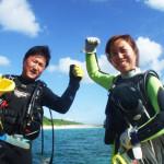 宮古島ダイビング通信:まったりビーチダイビング♪