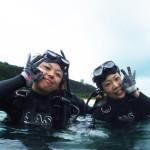 宮古島ダイビング通信:ビーチで体験ダイビング