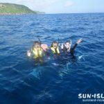 Sさん・Nさんボート体験ダイビング
