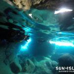 伊良部島ダイビングスポット・ポイント【青の洞窟】