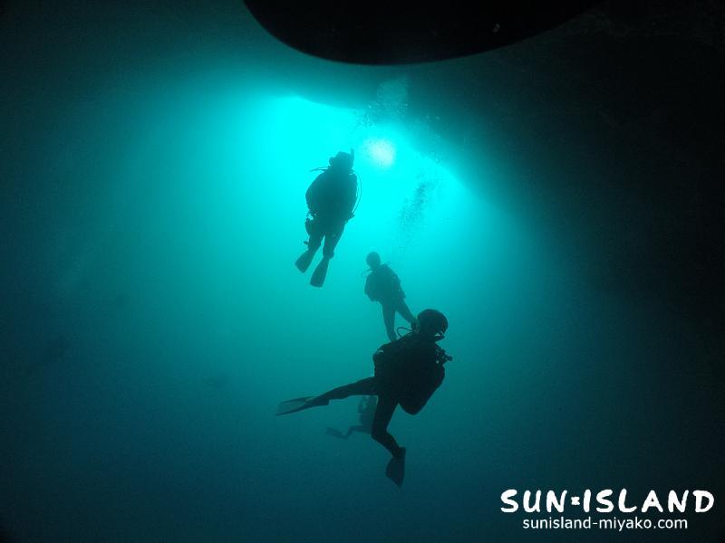 下地島ダイビングスポット【通り池】