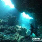 光があふれる宮古島ダイビングスポット