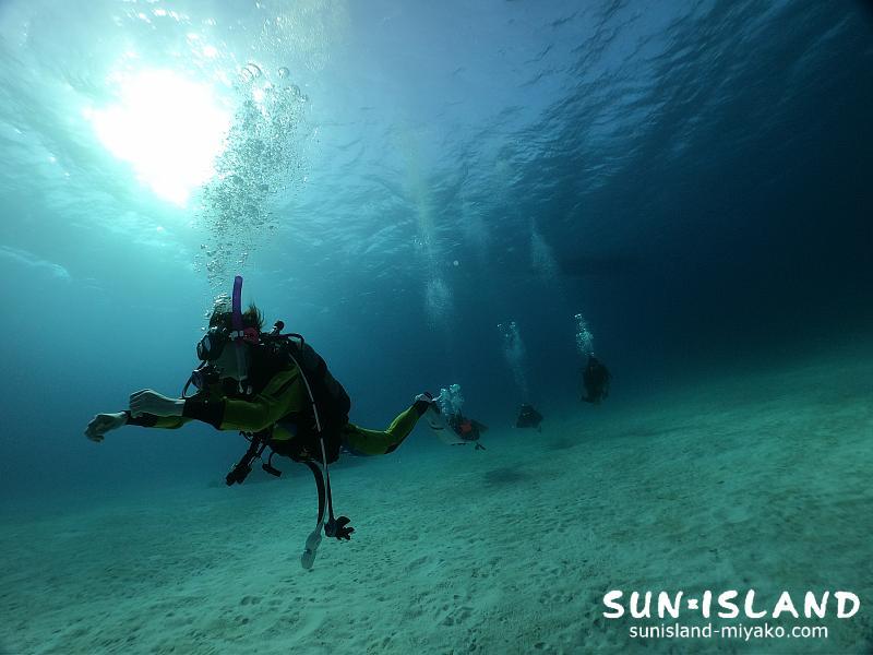 下地島ダイビングスポット『クリスタルパーク』