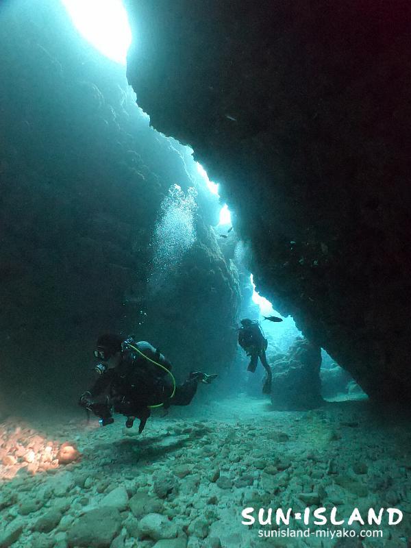 下地島ダイビングスポット『中の島チャネル』