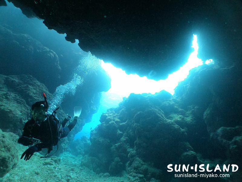 下地島ダイビングスポット『中の島チヤネル』