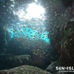 宮古島ダイビングスポット『ツインホール』