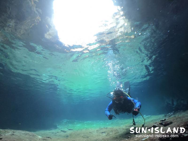 伊良部島ダイビングスポット「白鳥湾内」
