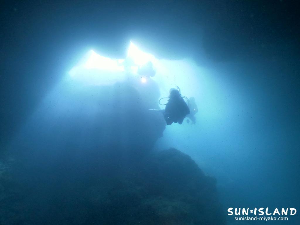 下地島ダイビングスポット「マリンレイク」
