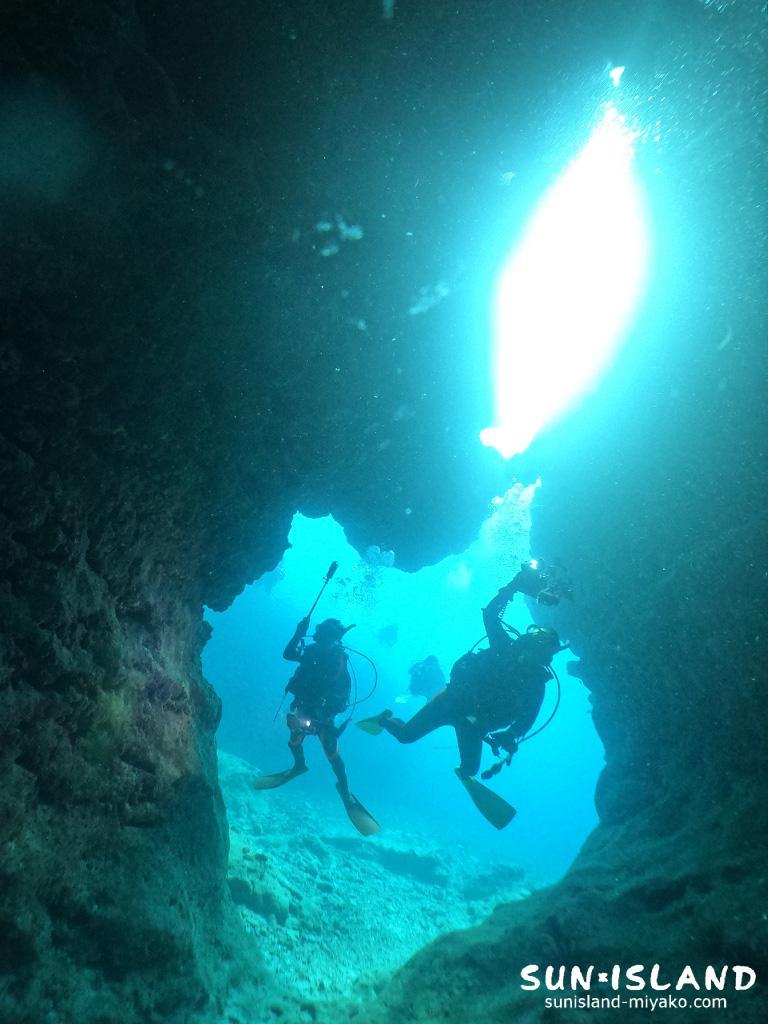 下地島ダイビングスポット「中の島チャネル」
