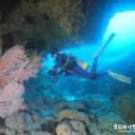 下地島ダイビングスポット「魔女の部屋」