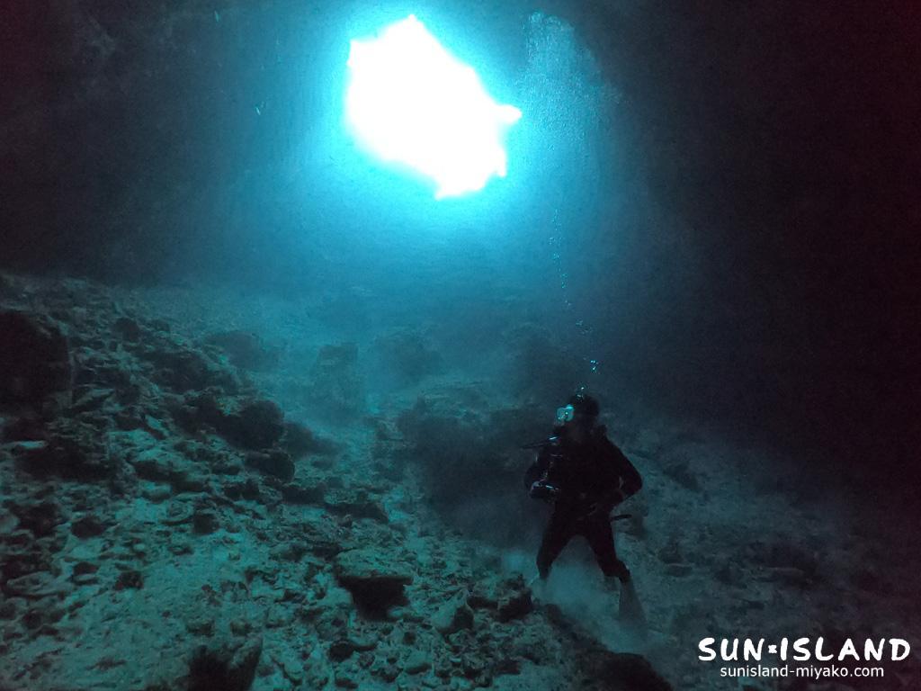 下地島ダイビングスポット「35ホール』